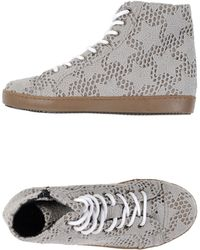 Mancapane High-Tops & Trainers gray - Lyst