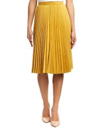 YAL New York - Pleated Skirt - Lyst