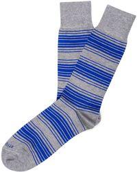 Etiquette - Etiquette Tokyo Stripe Socks - Lyst