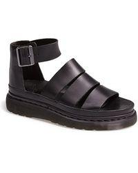Dr. Martens 'Clarissa' Leather Sandal - Lyst