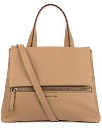 Givenchy Pandora Pure Flap Medium Leather Bag - Lyst