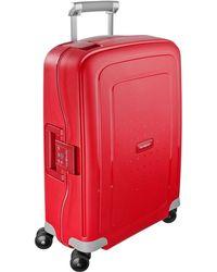 Samsonite Wheeled Luggage red - Lyst