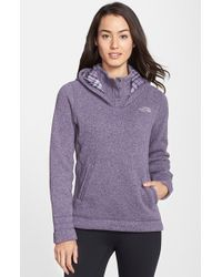 The North Face Women'S 'Crescent Sunset' Hooded Pullover - Lyst