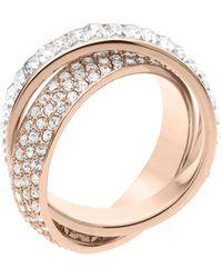 Michael Kors Pavebaguette Eternity Ring - Lyst