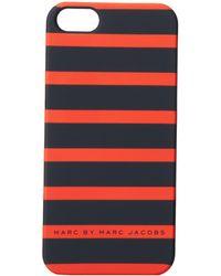 Marc By Marc Jacobs Matte Pvc Stripes Phone Case - Lyst