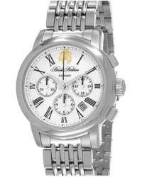 Brooks Brothers - Chronograph Bracelet Watch - Lyst