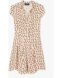 Derek Lam | Crescent Print Dress | Lyst