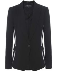 Rag & Bone Slash Silk Blend Blazer - Lyst