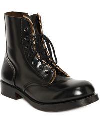 Alexander McQueen Zip Utlility Boot - Lyst