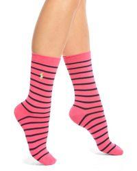 Pink Pony 'st. James' Stripe Trouser Socks