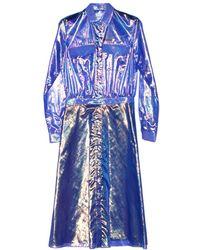 Alexander Lewis - Suncrest Organza Shirt Dress - Lyst