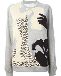 Carven Patchwork Design Sweater - Lyst