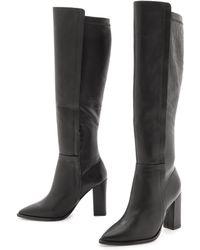 Loeffler Randall Minetta Knee Boots  Black - Lyst