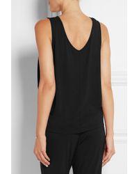 CALVIN KLEIN 205W39NYC - Elevate Stretch-modal Jersey Pyjama Top - Lyst