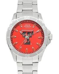 Jack Mason Brand - 'texas Tech University Red Raiders' Bracelet Watch - Lyst