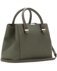 Victoria Beckham Mytheresacom Exclusive Quincy Leather Tote - Lyst
