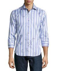 Robert Graham Pueblo Striped Sport Shirt - Lyst