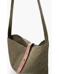 Mango - Cross-body Cotton-canvas Bag - Lyst