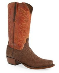 Lucchese | 'ferris' Western Boot | Lyst