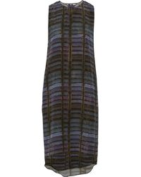 Theyskens' Theory Dritto Printed Silkcrepe Dress - Lyst