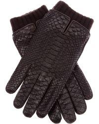 Christophe Fenwick - Python Skin Gloves - Lyst