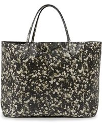 Givenchy Antigona Baby'S Breath-Print Leather Tote - Lyst