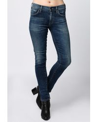 Citizens of Humanity | Agnes Slim Straight Jean | Lyst