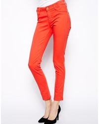 James Jeans Mid Rise Skinny Jeans - Lyst