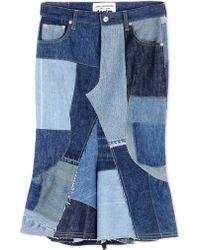 Junya Watanabe | Denim Skirt | Lyst