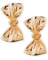 Tuleste Large Bow Earrings - Lyst