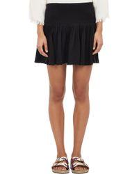 Etoile Isabel Marant Pleated Dropwaist City Flou Skirt - Lyst