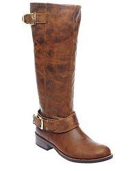 Steve Madden Suspekt Tall Leather Boots - Lyst