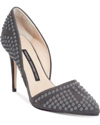 French Connection Gray Ellis Pumps - Lyst