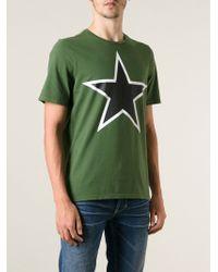 Dondup Star Printed T-shirt - Lyst