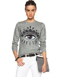 Kenzo Eye Sweatshirt - Lyst