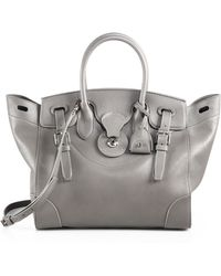 Ralph Lauren | Ricky Soft Leather Tote | Lyst