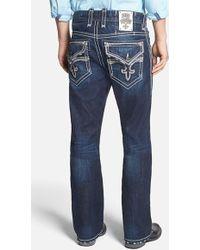 Rock Revival Bootcut Jeans - Lyst