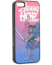 Marc By Marc Jacobs Fergus Bunny Hop Hologram Iphone 5 Case - Lyst
