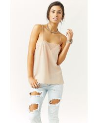 Cami Nyc The Sweetheart Silk Cami - Lyst