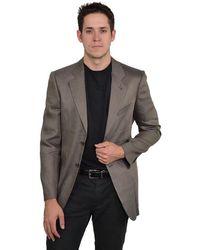Giorgio Armani | Men's Herringbone Blazer | Lyst