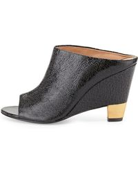 Vc Signature - Tamiko Leather Wedge Mules  - Lyst