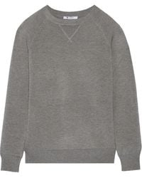 T By Alexander Wang Piquã Sweater - Lyst