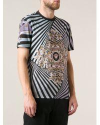 Versace Striped Tshirt - Lyst