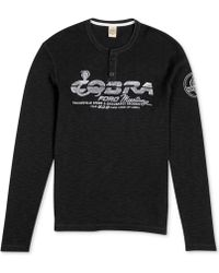 Lucky Brand Cobra Henley Thermal Shirt - Lyst