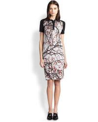 Ostwald Helgason Printedfront Jersey Polo Dress - Multicolor