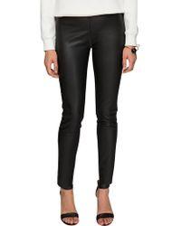 Pixie Market Off Duty Leather Pants - Lyst
