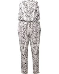 Haute Hippie Zebra Print Jumpsuit - Lyst