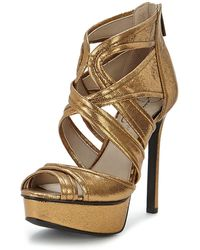 Jessica Simpson Cheere Platform Shoes - Lyst