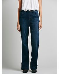 Free People Cora High Rise Flare - Lyst