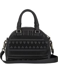 Christian Louboutin Spiked Small Panettone Satchel - Lyst